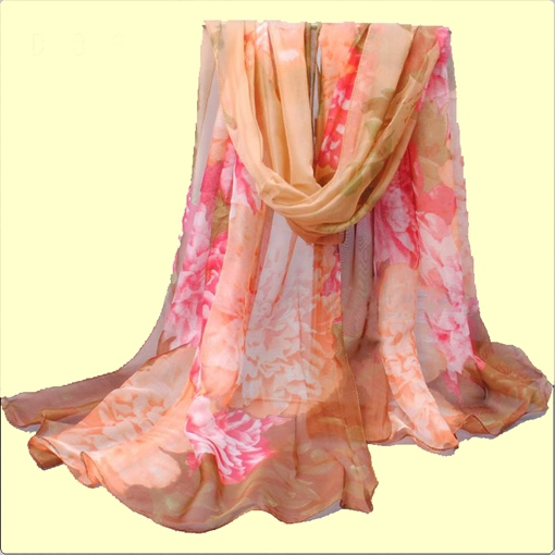 Colorful Chiffon Light Sunscreen Scarfs
