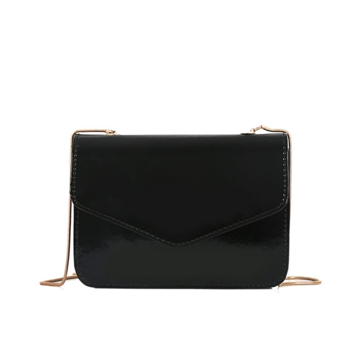 Concise Solid Color Chain Mini Cross Body Bag