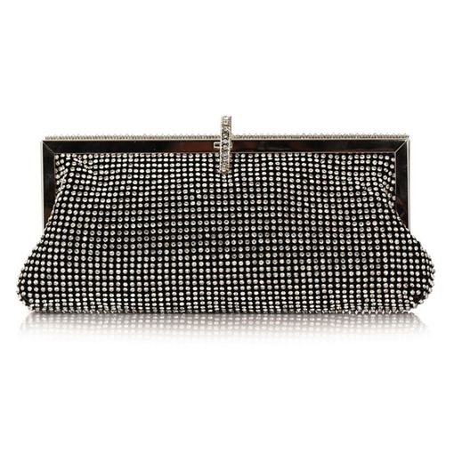 prägnante Strass Damen Clutch