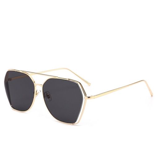 Yurt Metal Polygon Retro Sunglasses