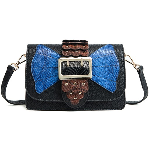 Occident Style Serpentine Pattern Crossbody Bag