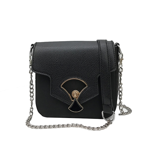 Chic Color Block PU Women Crossbody Bag