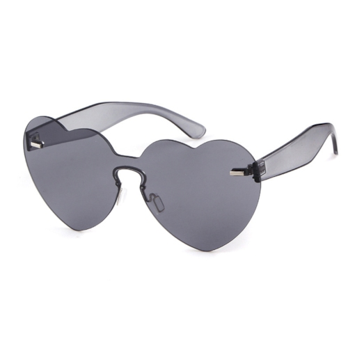 Colorful Rimless One-Piece Sunglasses