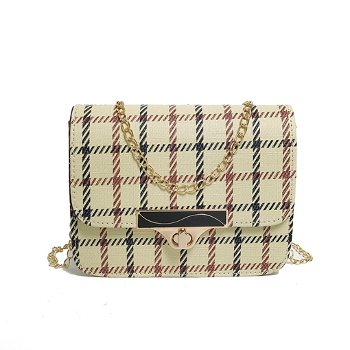 Classic Stripe Pattern Mini Cross body Bag