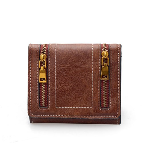Casual Zipper Decoration Women Wallet