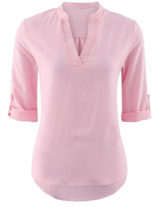 Casual Solid Color Women's T-Shirt In Short Sleeve