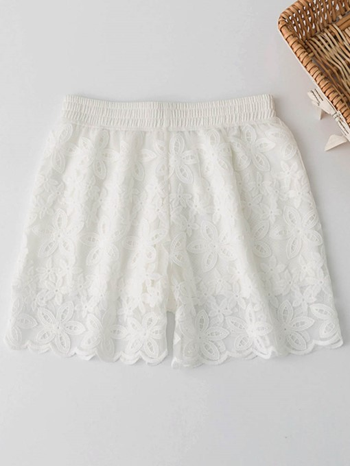 Lace Hollow Women's Shorts