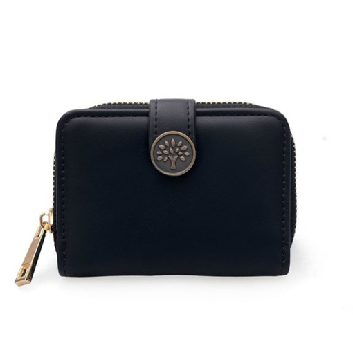 Short Type Plain Women Wallet