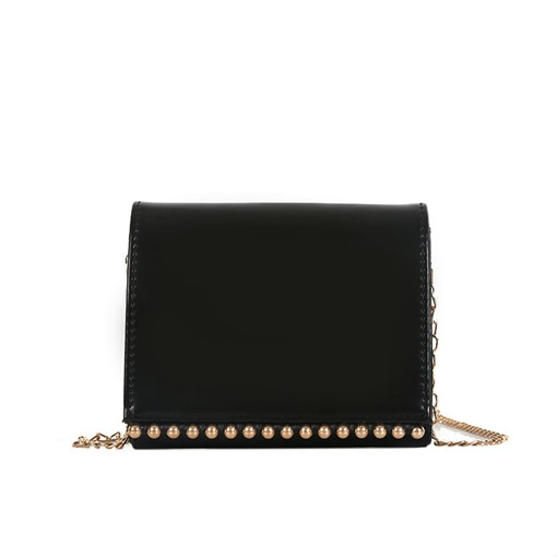 Concise Plain Mini Cross Body Bag