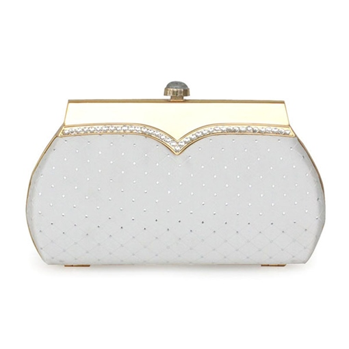 Elegant Plain Mini Women Clutch