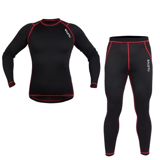 Outdoor Cycling Fleece Warm Men's Sports Suit