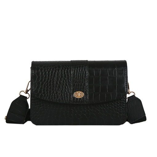 Vogue Croco-Embossed Cross Body Bag