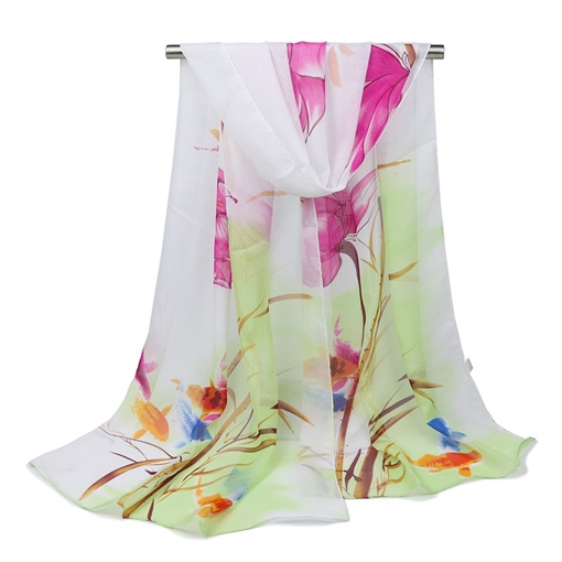 All Match Floral Beach Scarfs