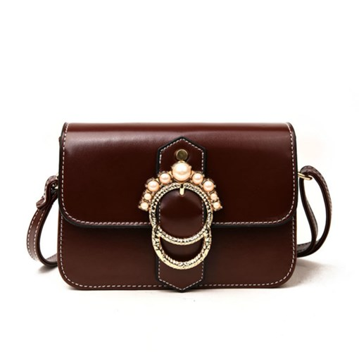 Pearl Decoration Women Cross Body Bag