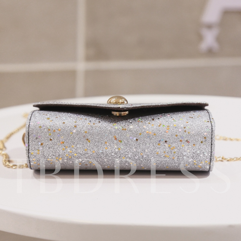 Sequins Design Cross Body Bag