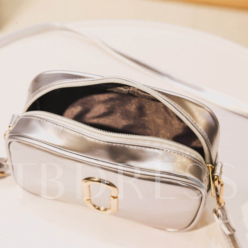 Glossy Mini Cross Body Bag