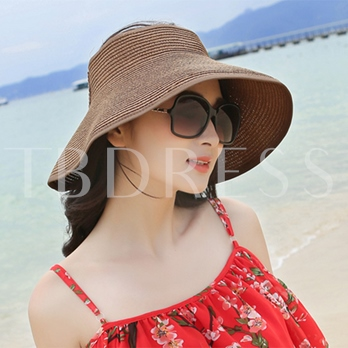 Pulldown Bowknot Hollow Out Hats