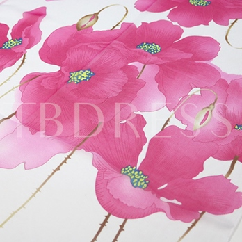 New Style Floral Thin Scarfs