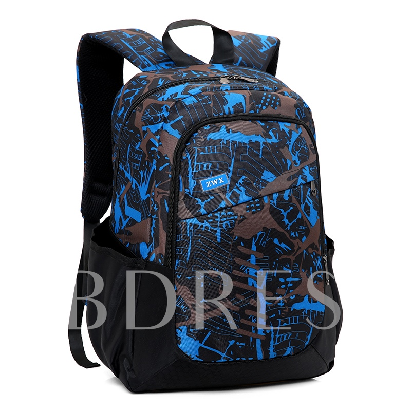 Casual Prints Oxford Backpack ( 3 Bag Set)