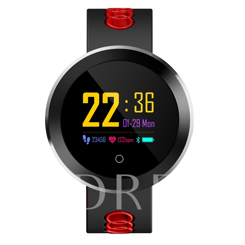 Sports Color Screen Smart Watch Waterproof with Blood Pressure Monitor