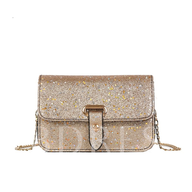 Chic Sequins Mini Cross Body Bag
