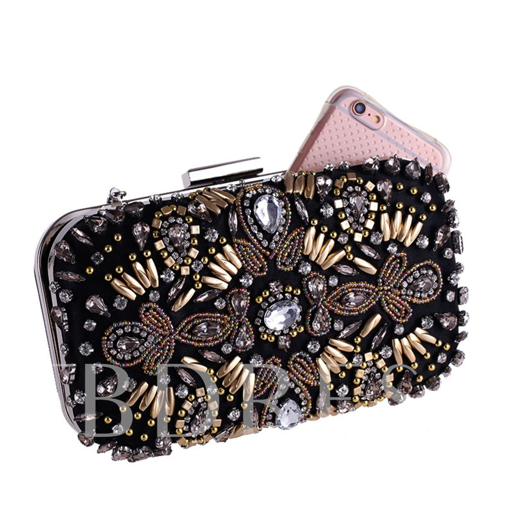 Luxury Style Beading Women Clutch