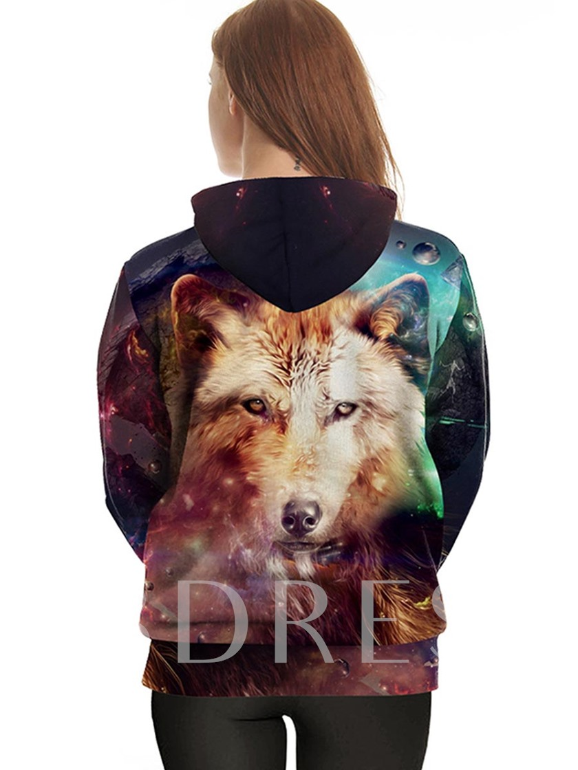 Couple Outfits Women's Hoodie With Wide Pocket
