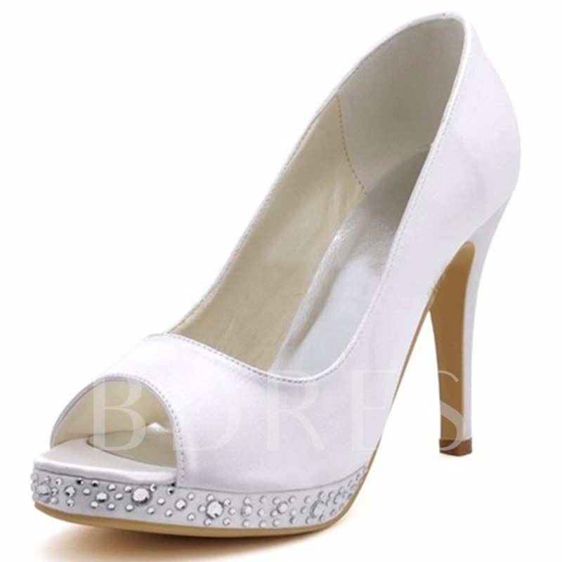 Simple Wedding Shoes For Bridal Sold Out