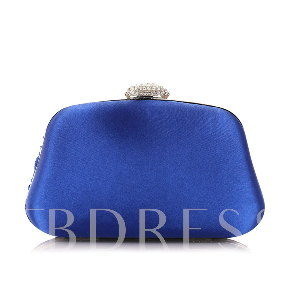 Casual Pleated Solid Color Women Clutch