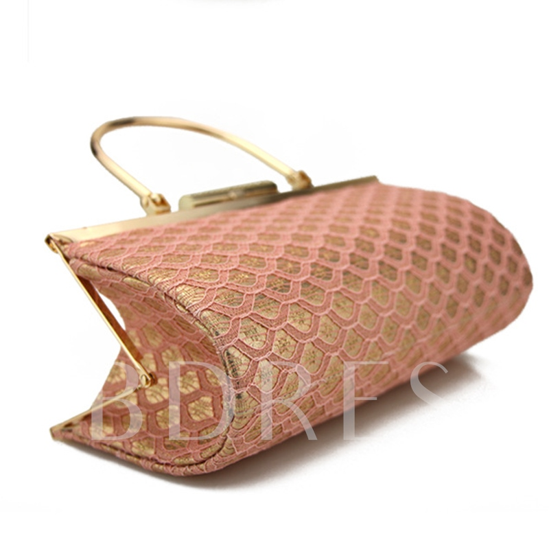 Concise Lace Decoration Women Clutch