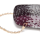 concise strass mini femmes embrayage