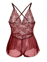 ouvert entrejambe See-through nounours backless