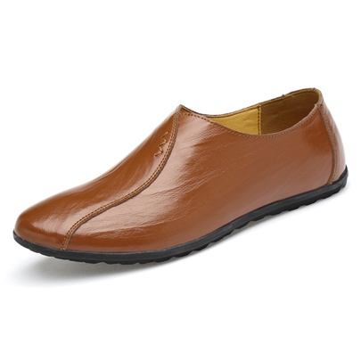 Thread Slip On Driver Shoes for Men