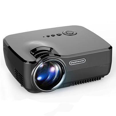 Portable LED Projector Home Theater Support iPhone/DVD/PS4/Xbox