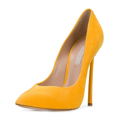 Ginger Suede High With Shoes Women's Pumps