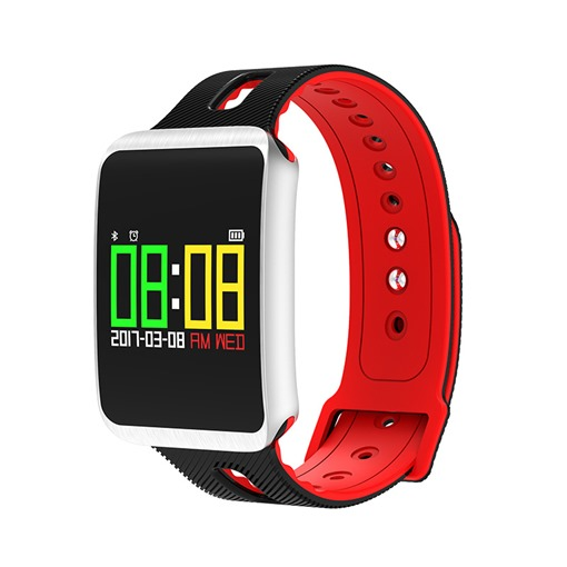 TF1 Smart Bracelet Blood Pressure Color Waterproof Sports Healthy Bracelet