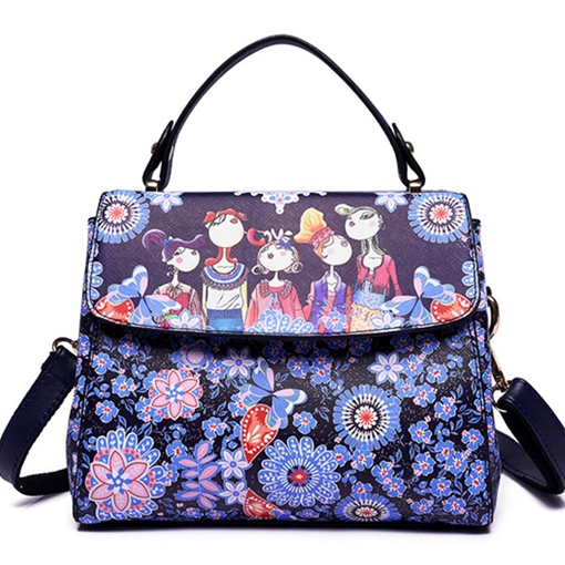 Ethnic Style Prints Women Crossbody Bag