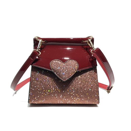 Dazzling Color Block Women Crossbody Bag