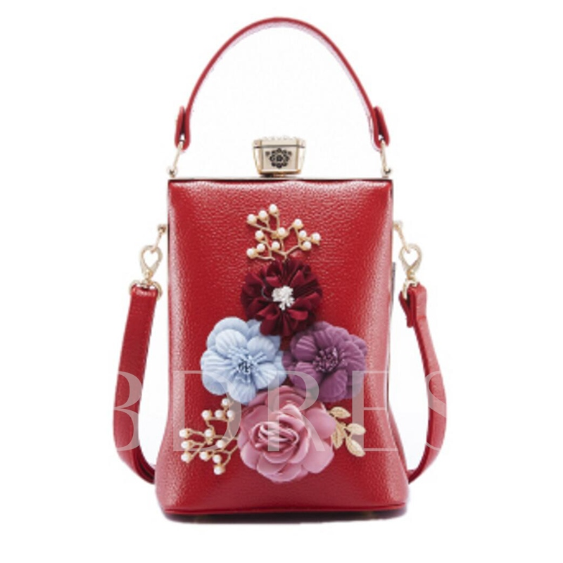Fashion Fashion Floral Decoration Women Clutch