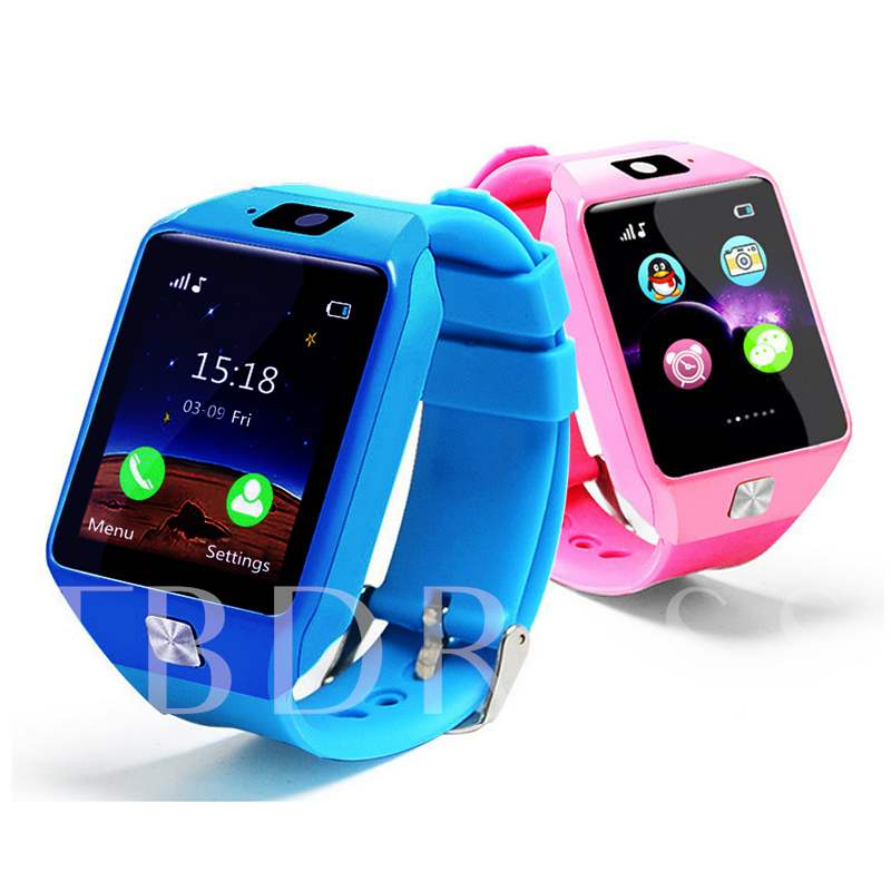 EU9 Child Smart Positioning Watch Phone Card Bluetooth Call Touch Screen