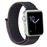 Apple Watch Band for 38mm 42mm Nylon Woven Loop Strap