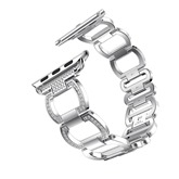 Iwatch Stainless Steel Band Metal Bracelet with Diamond Style