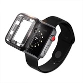 Scratch-resistant Soft Silicone Plated Cover for 38mm 42mm iWatch Series 3/2/1