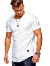 Plain Short Sleeve Men's T-shirt