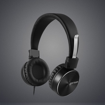 GS782 Single Hole Laptop Gaming Bass Phone Headset