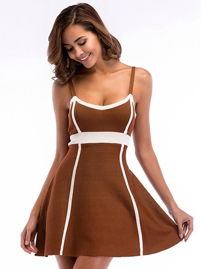 Strappy Sleeveless Women's Sexy Dress