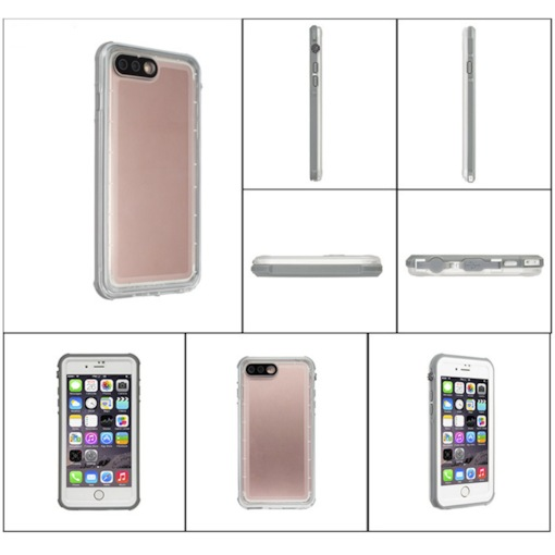 Transparent Waterproof Mobile Phone Shell Simple and Ultra-thin Shell for iphone 7
