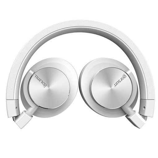 Gs781 Single Hole Headphones Fold Music Bass Phone Notebook Headset