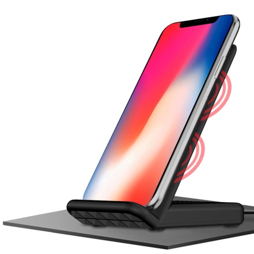 IPhone 8/Plus/X Multi-Interface Fast Charge Wireless Charger Cooling Mute