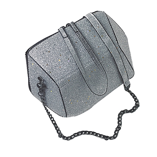 Sequins Plain Women Crossbody Bag